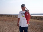 Huge 5.9 pound kokanee for Ron Carey...