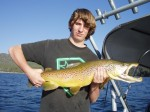 Colin with his big brown...