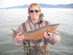 Mike McNneilly with another catch!