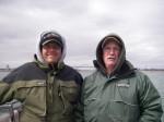 Rick and Jason at the ramp...