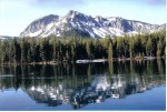 Paulina peak reflecting off the lake...