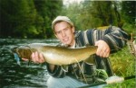 Mark with a Metolius bull from the early 90s...