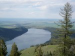 A tramway shot of Wallowa Lake.....quite a ride and spectacular views!