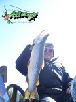 Allan with a nice hookjaw...