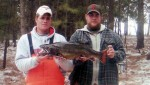 New South Dakota state record brook trout.  The fish weighed in at 11 lb. 3 oz.