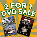 2 for 1 DVD Sale